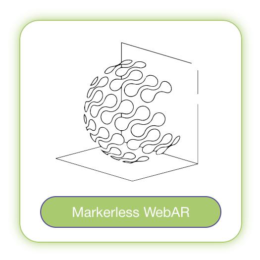 Markerless WebAR